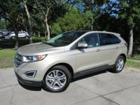 This 2017 Ford Edge 4dr Titanium FWD features a 2.0L 4