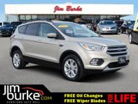 CARFAX 1-Owner! -Leather seats This 2017 Ford Escape
