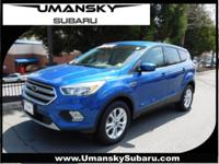 4WD. Blue 2017 Ford Escape SE 4WD 6-Speed Automatic