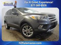 Recent Arrival! 2017 Ford Escape SE Gray **ONE OWNER**,