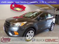SUPER LOW MILES!!!! Magnetic Metallic 2017 Ford Escape