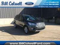 Magnetic Metallic 2017 Ford Escape SE FWD 6-Speed