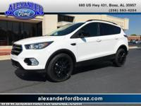 2017 Ford Escape SE FWD. Cloth Seats, Power Driver