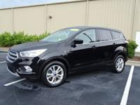 New Price! Clean CARFAX. Shadow Black 2017 Ford Escape