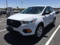Don't miss out on this 2017 Ford Escape S! It comes