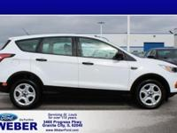 Oxford White 2017 Ford Escape With Weber recently
