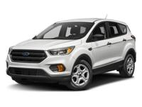 The 2017 Ford Escape is a compact SUV that is an