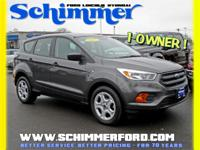 Used 2017 Ford Escape S FWD in stock at Schimmer Ford