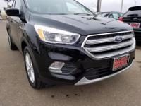 Options:  2017 Ford Escape Se|Black|4Wd|One Owner|Clean