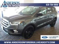 New Price! Certified. Magnetic 2017 Ford Escape SE 4WD