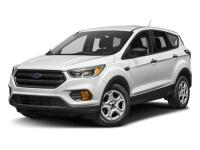 Certified. 2017 Ford Escape SE 4WD 6-Speed Automatic