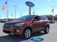 Sturdy and dependable, this 2017 Ford Escape SE
