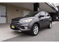 Options:  2017 Ford Escape Se|Gray|23|084 Miles|Stock