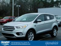 Options:  2017 Ford Escape Se|Ingot Silver