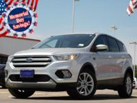 2017 Ford Escape Oxford White 6-Speed Automatic Escape