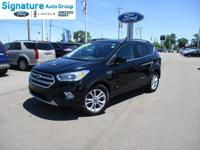 Shadow Black 2017 Ford Escape SE FWD 6-Speed Automatic
