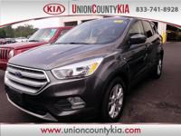 2017 Ford Escape SE Gray 30/23 Highway/City MPG
