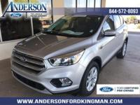 Certified. Ingot Silver Metallic 2017 Ford Escape SE