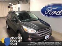 Certified. 2017 Ford Escape SE Magnetic Metallic ONE
