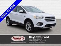 Cruising in this 2017 Ford Escape SE is better than