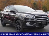 2017 Ford Escape, LEATHER, POWER LIFT GATE, VOICE