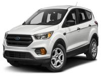Options:  2017 Ford Escape Se|This 2017 Ford Escape 4Dr