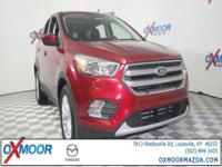 2017 Ford Escape SE CARFAX One-Owner. 29/22