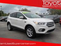 Options:  2017 Ford Escape Se|White Platinum Metallic