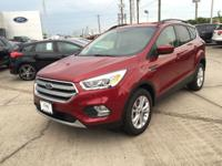 Options:  2017 Ford Escape Se|Ruby Red Metallic Tinted