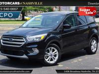 This 2017 Ford Escape 4dr SE FWD features a 2.0L 4