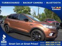 Used 2017 Ford Escape,  DESIRABLE FEATURES:  a BACKUP