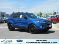 Boasts 28 Highway MPG and 22 City MPG! This Ford Escape