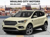 4WD! Turbo! 2017 Ford Escape. This wonderful 2017 Ford