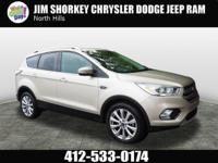 Recent Arrival! 2017 Ford Escape Titanium CARFAX
