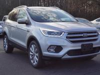 2017 Ford Escape. Steady as she goes. Stability and