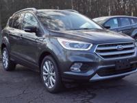 2017 Ford Escape. Rolls like the wind. No worries, it's