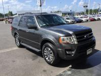 Clean CARFAX. Gray 2017 Ford Expedition XLT RWD 6-Speed