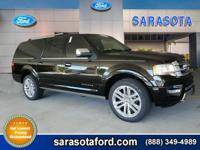 2017 Ford Expedition EL Platinum EcoBoost 3.5L V6 GTDi