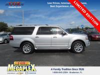 This 2017 Ford Expedition EL Limited in Ingot Silver is