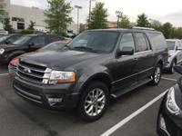 Gray 2017 Ford Expedition EL Limited  Recent Arrival!