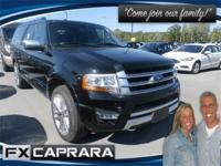 Black 2017 Ford Expedition EL Platinum 4WD 6-Speed