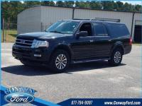 Shadow Black 2017 Ford Expedition EL XLT 4WD 6-Speed