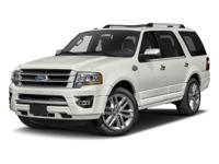Options:  2017 Ford Expedition 4X2 King Ranch|White