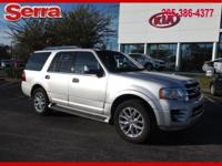 Silver 2017 Ford Expedition Limited RWD 6-Speed