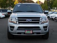 Options:  2017 Ford Expedition Limited|Silver/Black|V6