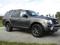 The Ford Expedition features a new aggressive front end