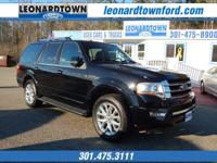 2017 Expedition Limited 4 Wheel Drive w/ Navigation -