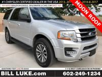 Options:  2017 Ford Expedition Xlt|Silver|Moon Roof|All