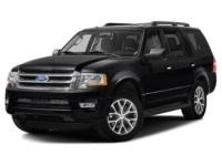 4WD! Black 2017 Ford Expedition XLT 4WD 6-Speed