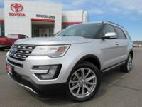 This 2017 Ford Explorer comes equipped with heated and